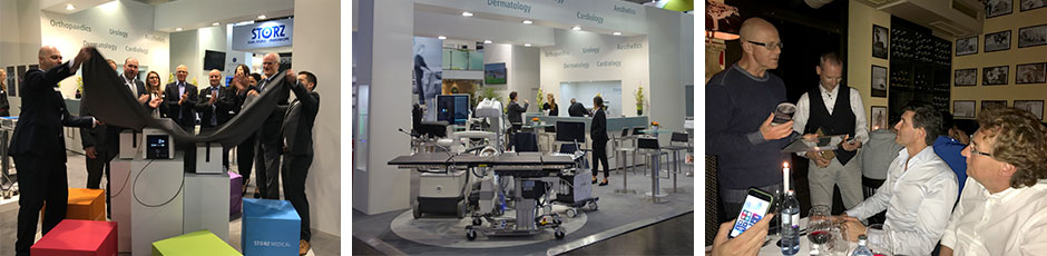 MEDICA 2017: STORZ MEDICAL presents new shock wave systems and announces winners of »Scientific Shock Wave Award«